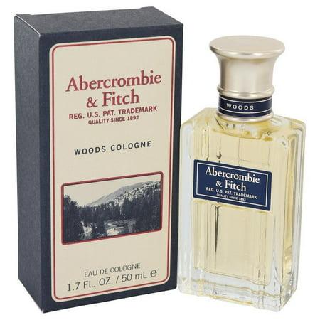 Abercrombie & Fitch Woods Eau De Cologne Spray For Men 1.7 Oz / 50 ml Sealed Box ()