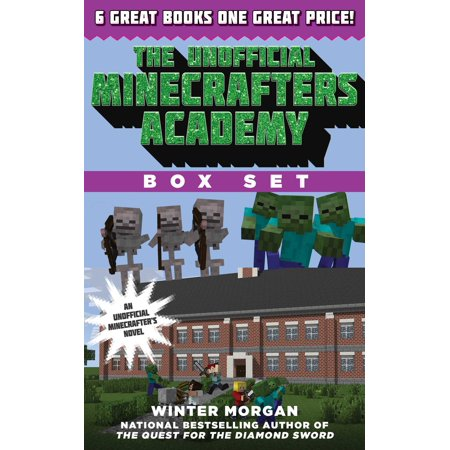 The Unofficial Minecrafters Academy Series Box Set : 6 Thrilling Stories for - Winter Peony