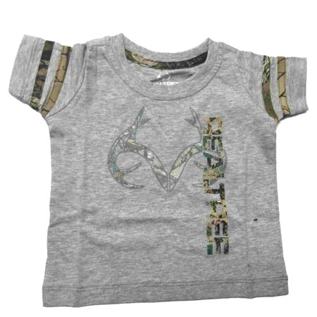 Realtree Camouflage Colosseum BABY INFANT Gray Realtree Antlers T-Shirt (6-12M) Infant Realtree Camo