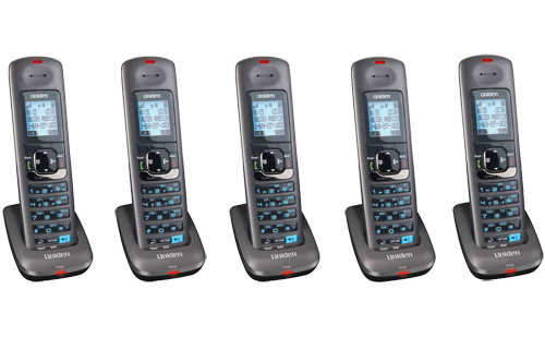 Uniden DCX400-5 Two Line Digital Cordless Handset for DECT4000 Series by Uniden