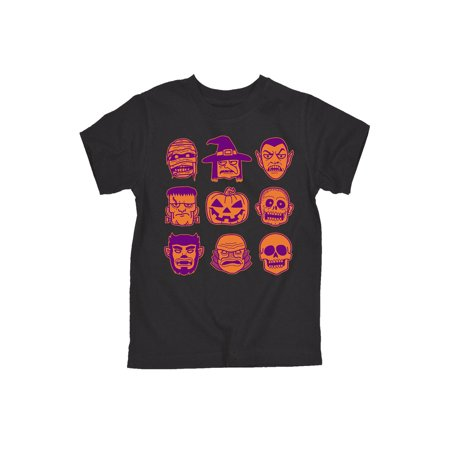 Halloween Icons - Toddler Short Sleeve Tee