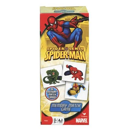 Spider Sense Spiderman Tower Memory Match Game - 36 Memory Match Cards