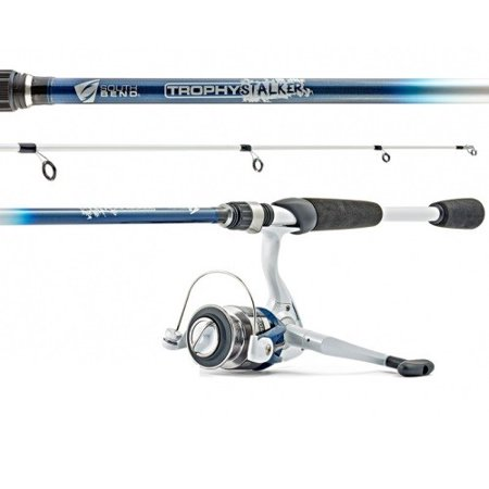 South Bend Trophy Stalker Ultralight Action Spin Combo,