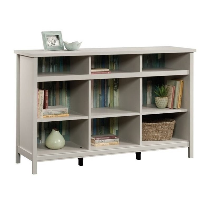 Pemberly Row 9 Cubby Bookcase in Cobblestone
