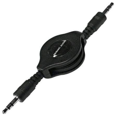 3 X Stereo Audio - Seismic Audio  Retractable 1/8