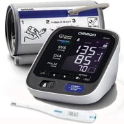 Omron BP785 10 Series  Upper Arm Blood Pressure Monitor with Thermometer