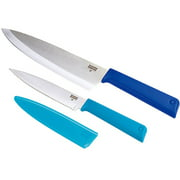 Kuhn Rikon Colori+ Classic Chef Knives (Set of 2)