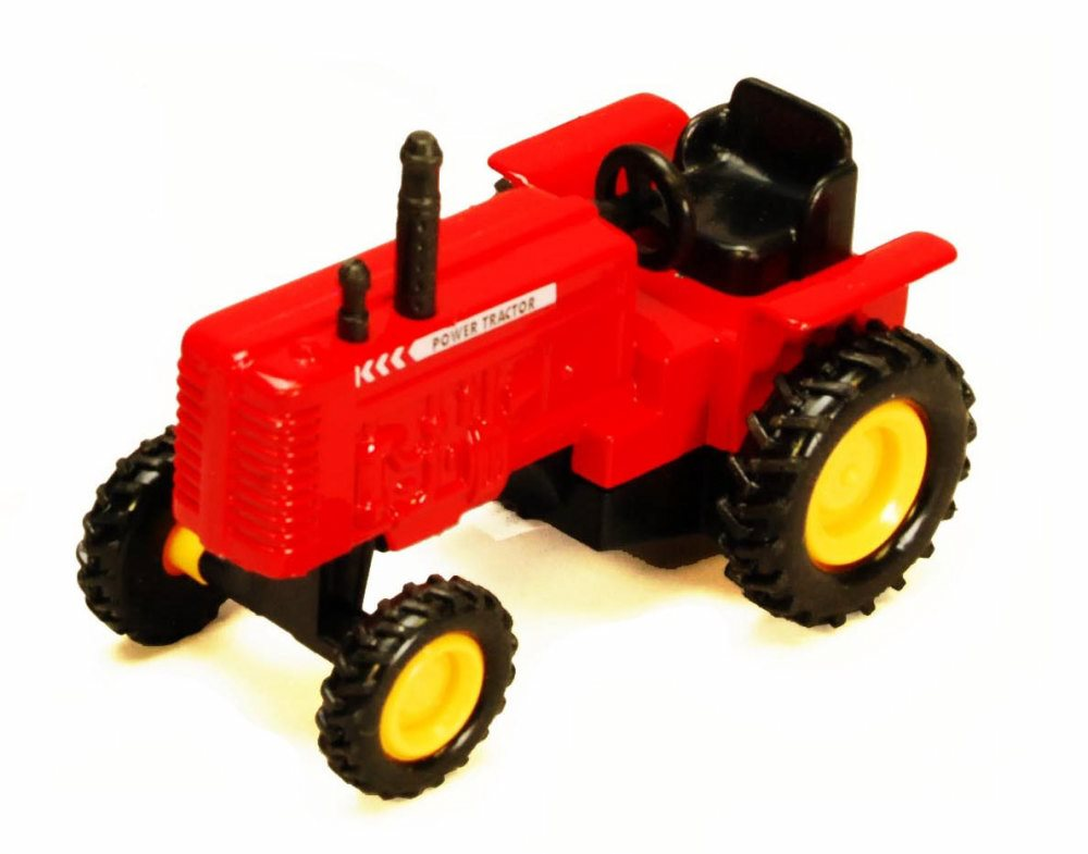 Power Farm Tractor, Red Showcasts 2169D 4 Inch Scale Diecast Model Replica (Brand but NOT... by Showcasts