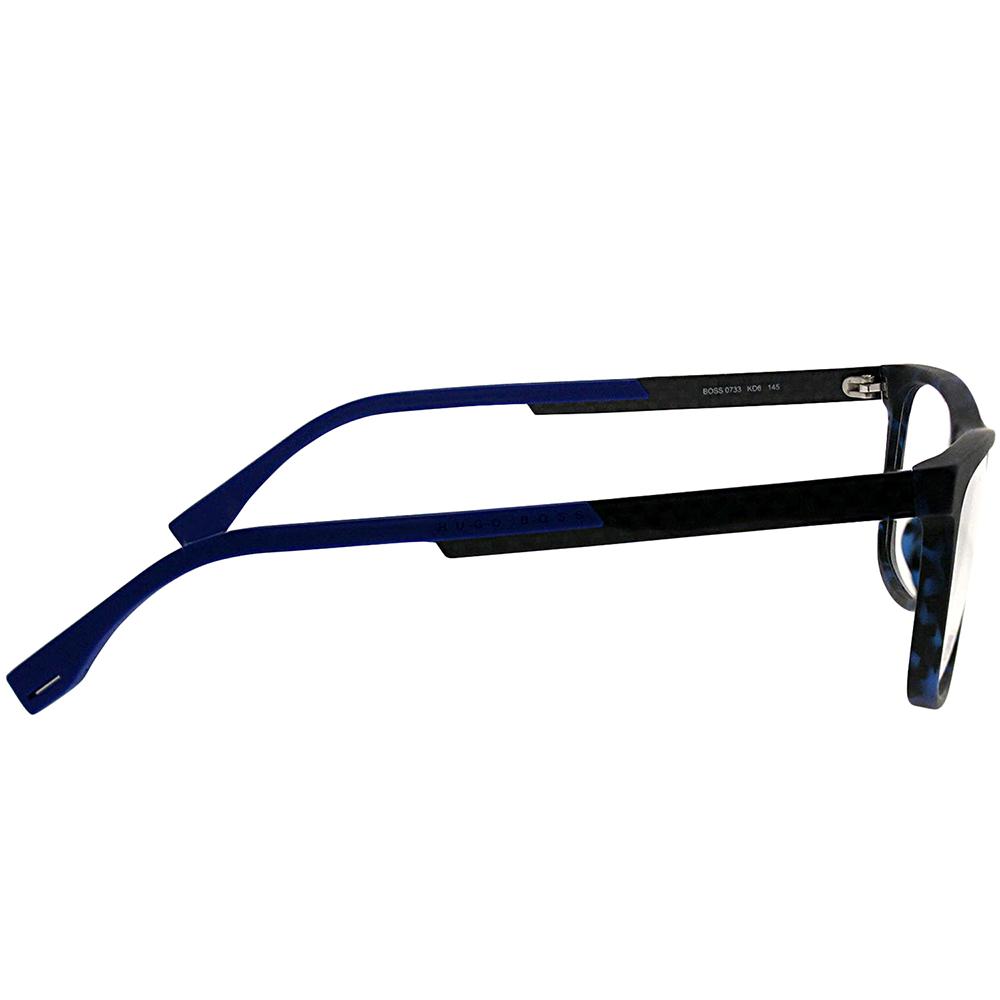 ee9054cc12 Hugo Boss BOSS 0733 KD6 54mm Unisex Rectangle Eyeglasses - Walmart.com