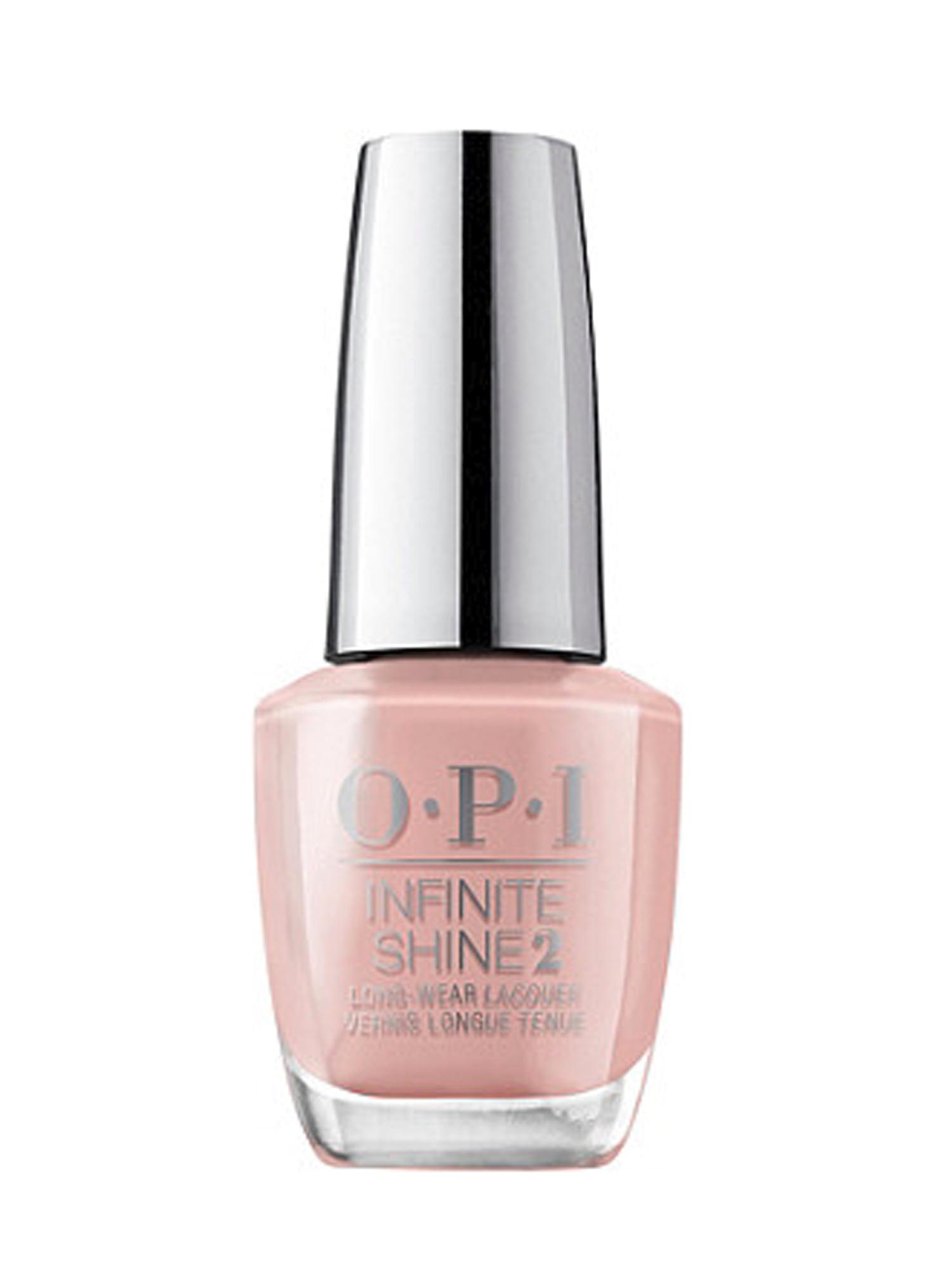 Opi Infinite Shine Nail Lacquer Peru Collection Machu Peach U 0 5 Fl Oz