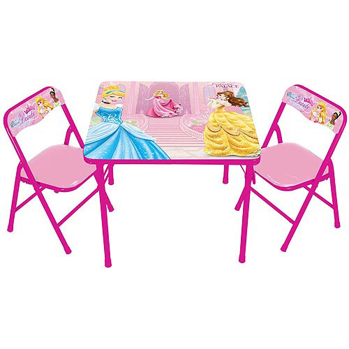 Disney Princess Timeless Elegance Erasable Activity Table and Chairs Set  sc 1 st  Walmart & Disney Princess Timeless Elegance Erasable Activity Table and Chairs ...