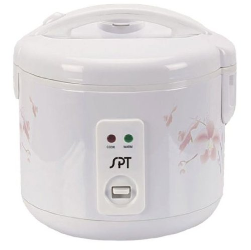 SPT SC-1202W Rice Cooker, 6-Cup by Sunpentown by