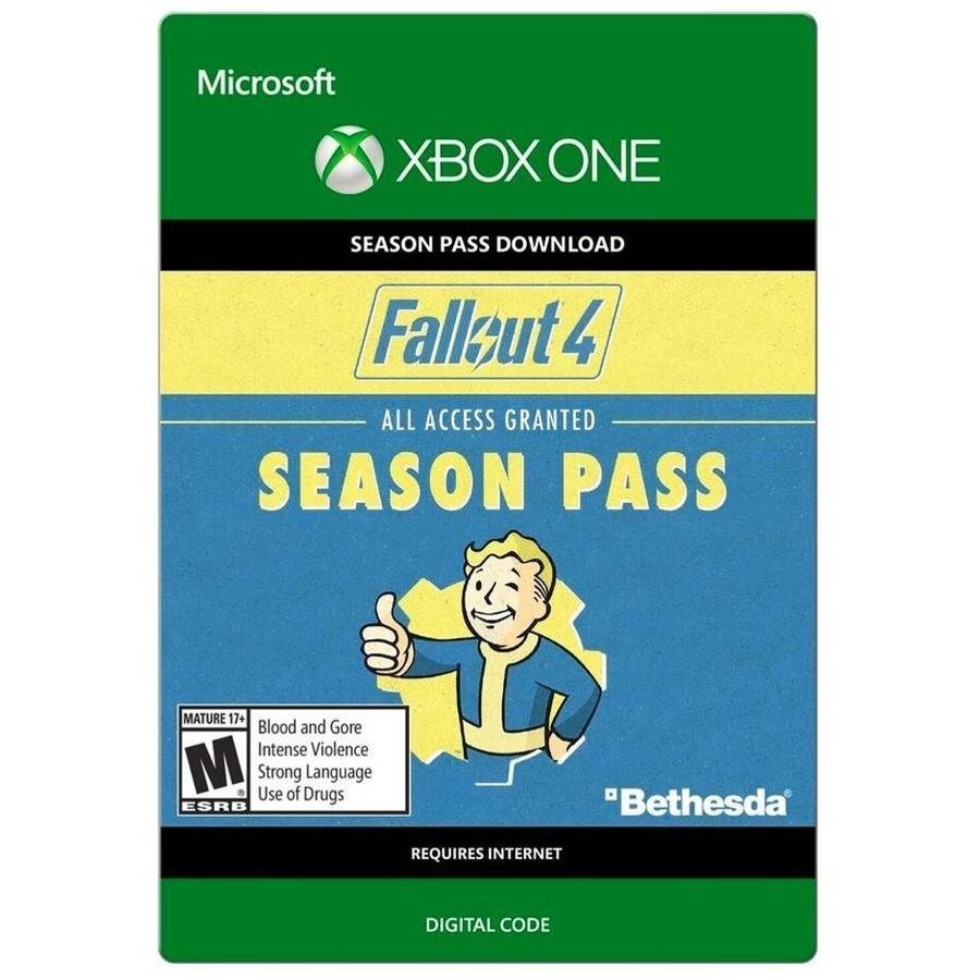 Fallout 4 Season Pass, Xbox One, Bethesda [Digital Download]