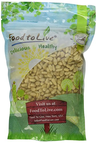 Food To Live Pine Nuts   Pignolias (1 Pound) by Food To Live