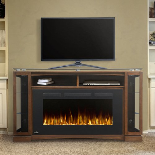 Napoleon The Shelton 42 in. Electric Fireplace Entertainment Center