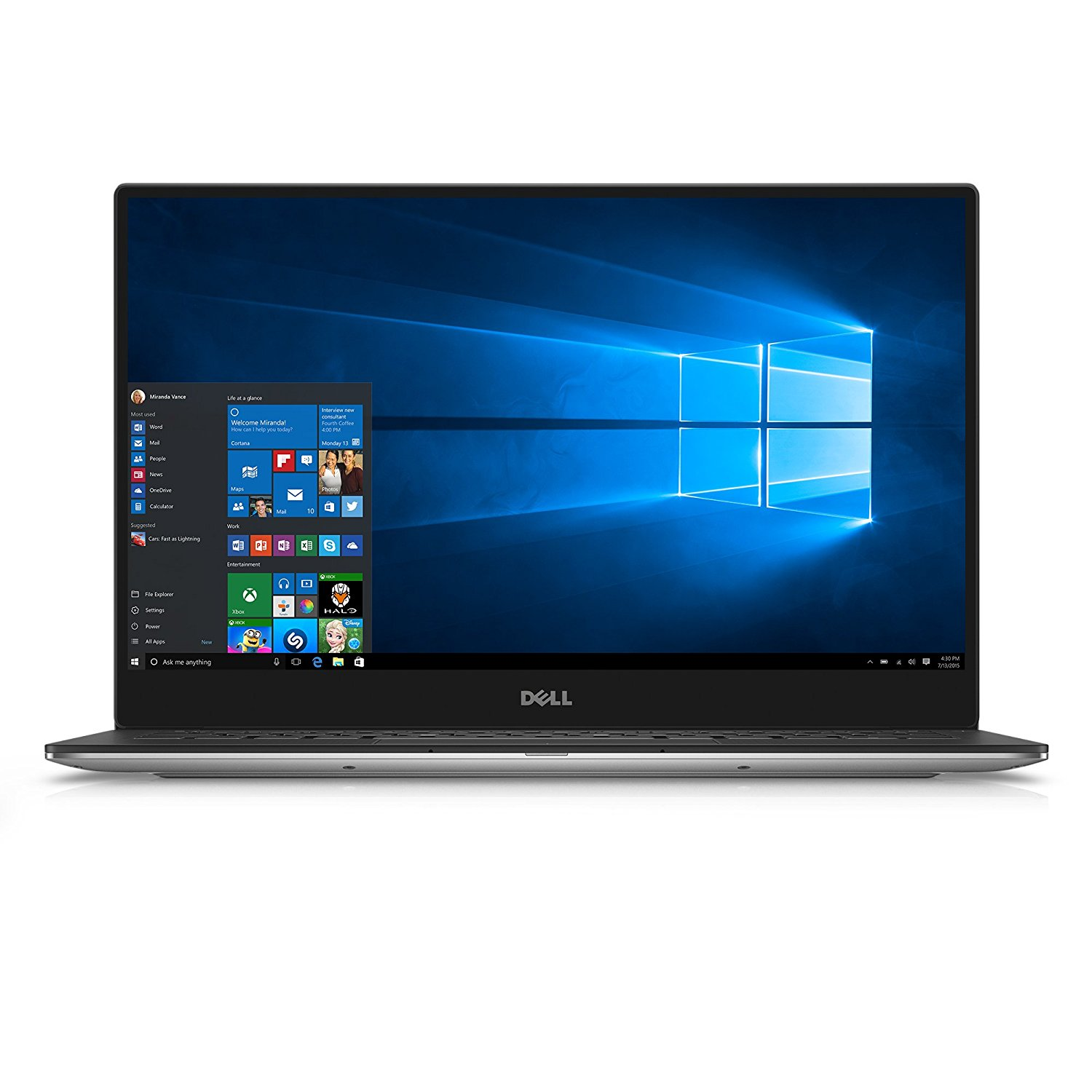 """Dell XPS 13"""" QHD Infinity Edge Touchscreen Notebook with Intel i7-7560U Processor, 16GB Memory, and 1TB... by Dell"""