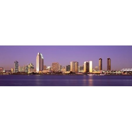 Skyscrapers in a city San Diego San Diego County California USA Poster Print - Party City San Diego California