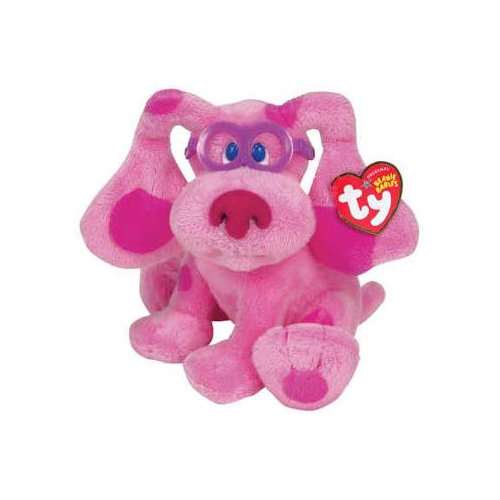 TY Beanie Baby - MAGENTA the Dog (Nick Jr. - Blue's Clues) (6.5 inch)