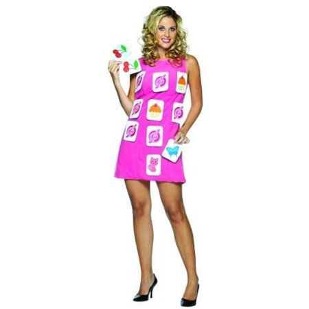 Make A Match Game Dress Adult Halloween Costume](Amazon Halloween Game Sale)