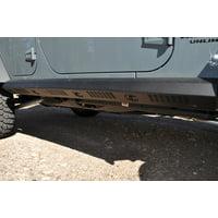 Addictive Desert Designs 07-18 Jeep Wrangler JK 2 Door Stealth Fighter Side Steps w/ KC Logo