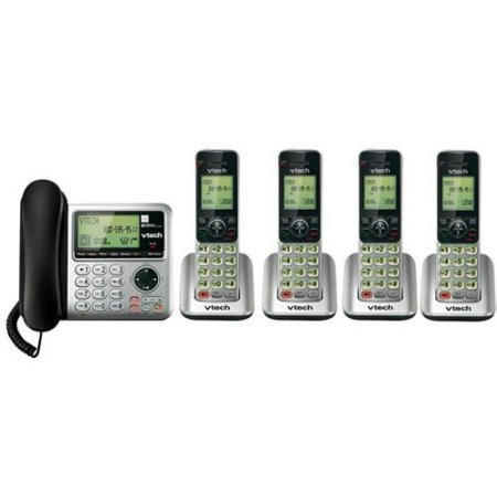 VTech CS6649-3 + (1) CS6609 Corded/Cordless Answering System