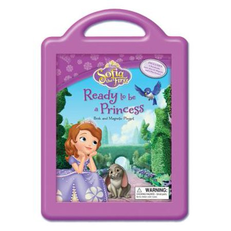 Sofia the First Ready to be a Princess : Book and Magnetic Playset - Sofia The Frist