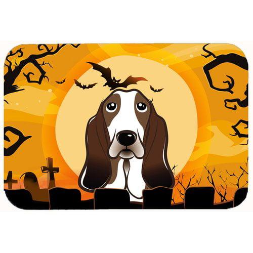 Carolines Treasures Dog Gone Cute Baby Bib Basset Hound Large