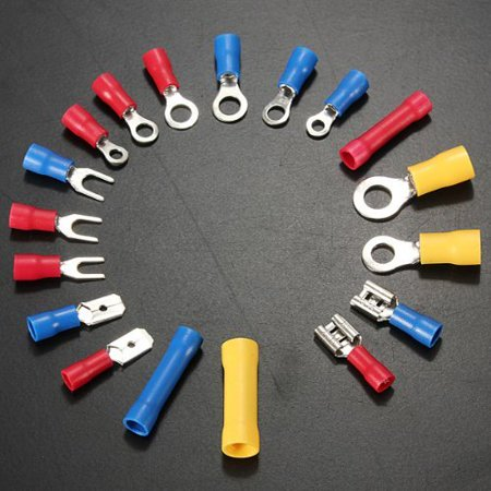 Stanz (TM) 300Pcs Assorted Crimp Terminal Set Insulated Electrical Wiring Connector Kit - image 2 de 5