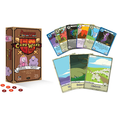 Adventure Time Card Wars Collector's Pack, Princess Bubblegum vs. Lumpy Space Princess by Cryptozoic Entertainment
