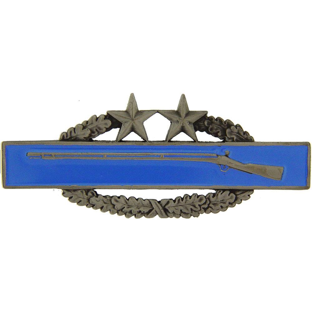 "U.S. Army Combat Infantry Badge 3rd Award Pin 3/4"""