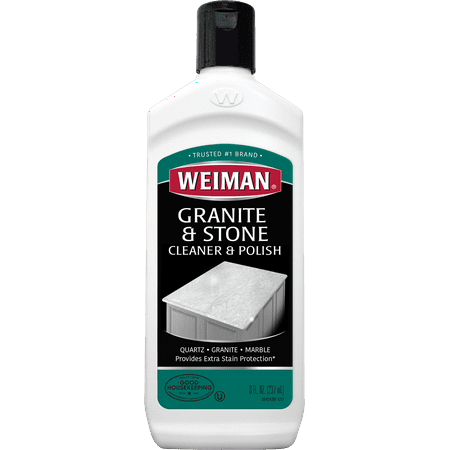 Weiman Granite Cleaner and Polish - 8 Ounce 6 Ounce Screen Cleaner