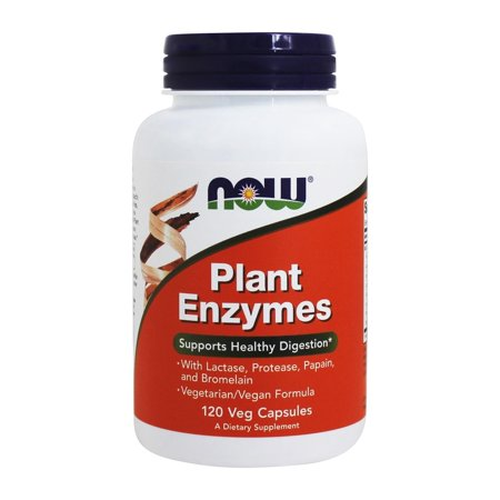 NOW Foods - Plant Enzymes - 120 Vegetarian