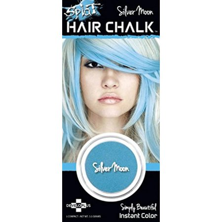 Hair Chalk Instant Vibrant Color Silver Moon, Splat Hair Chalk is a beautiful way to add pastel color highlights to your hair. By Splat ()