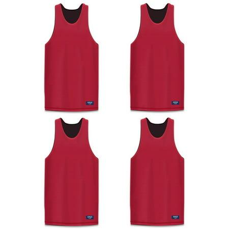 bf0e9f096 GOGO TEAM 4 Pack Reversible Basketball Jerseys