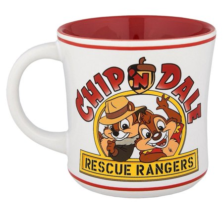 Disney Parks Chip and Dale Rescue Rangers Ceramic Coffee Mug New