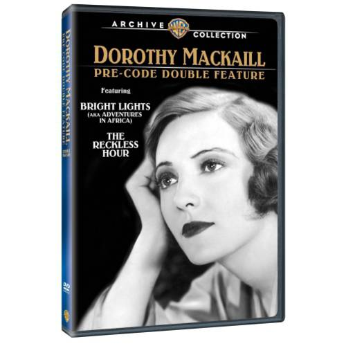 Dorothy Mackaill Pre-Code Double Feature: Bright Lights / The Reckless Hour (Full Frame)