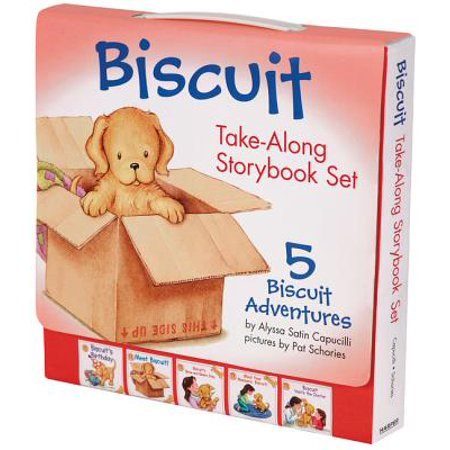 Storybook Set - Biscuit Take-Along Storybook Set : 5 Biscuit Adventures