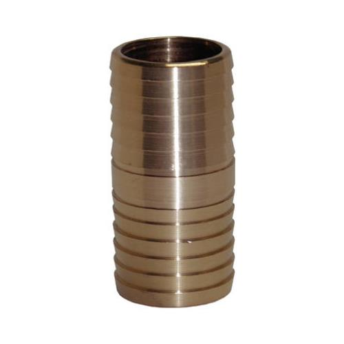 Water Source IC125NL 1-1/4 Inch Yellow Brass Insert Coupling