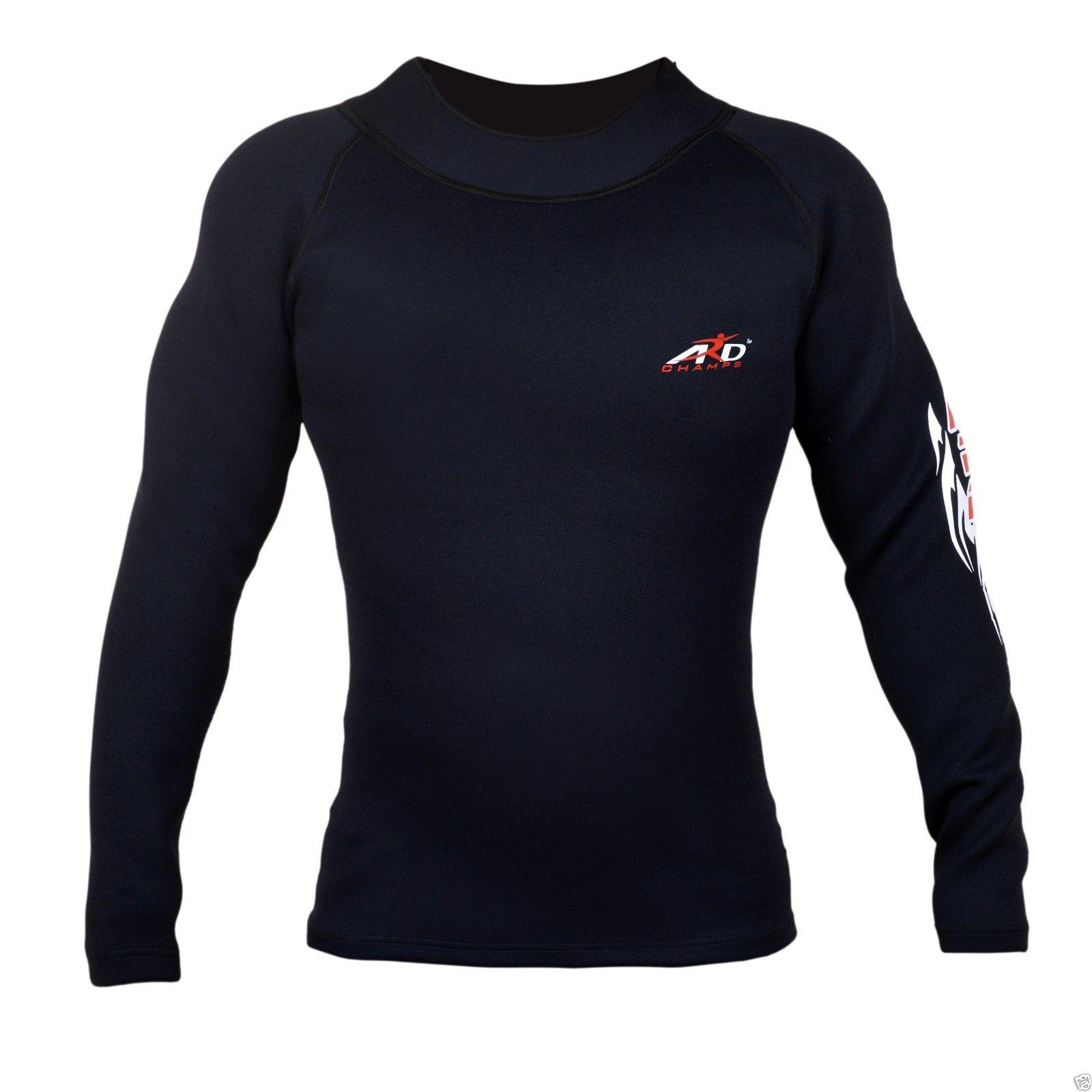 ARD Heavy Duty Neoprene Sweat Shirt Rash Guard Sauna suit...