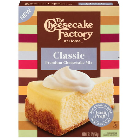 (4 pack) The Cheesecake Factory at Home Cheesecake Mix, Classic, 9.5-Ounce