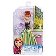Hasbro HSBE3142 Frozen Anna Singing Fashion Doll Toy for Kids - 4 Piece