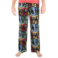 Harry Potter Men's House Crests All-Over Print Pajama Pant