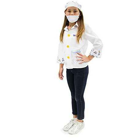 Boo! Inc. Brainy Doctor Children's Boy Halloween Dress Up Roleplay Costume - Dirty Halloween Doctor Names