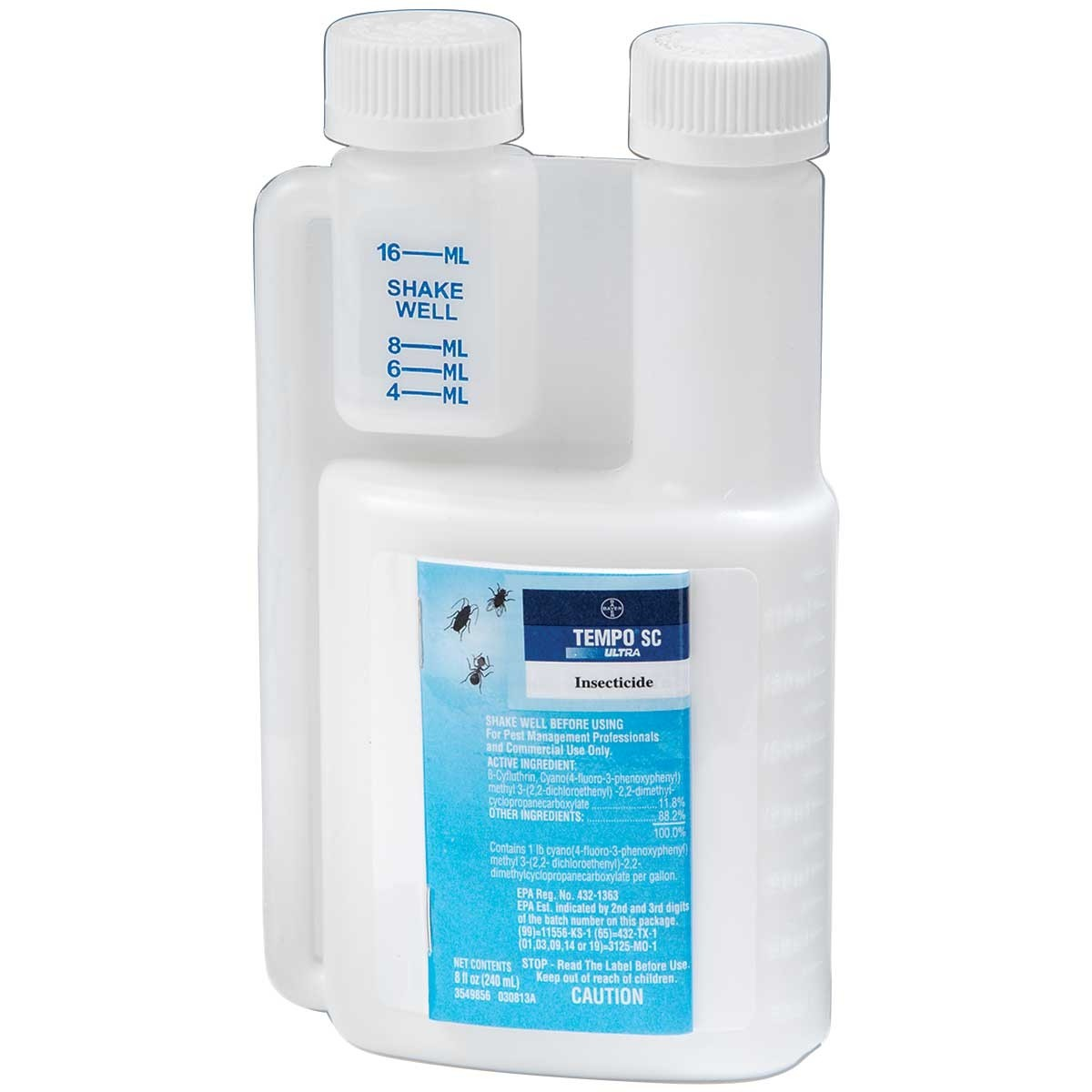 Bayer Tempo Sc Ultra Insecticide 900 Ml Beta-Cyfluthrin 1...