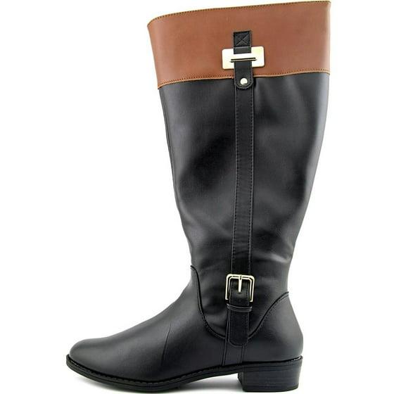 a295a642f71 Karen Scott Deliee Wide Calf Women Round Toe Boots