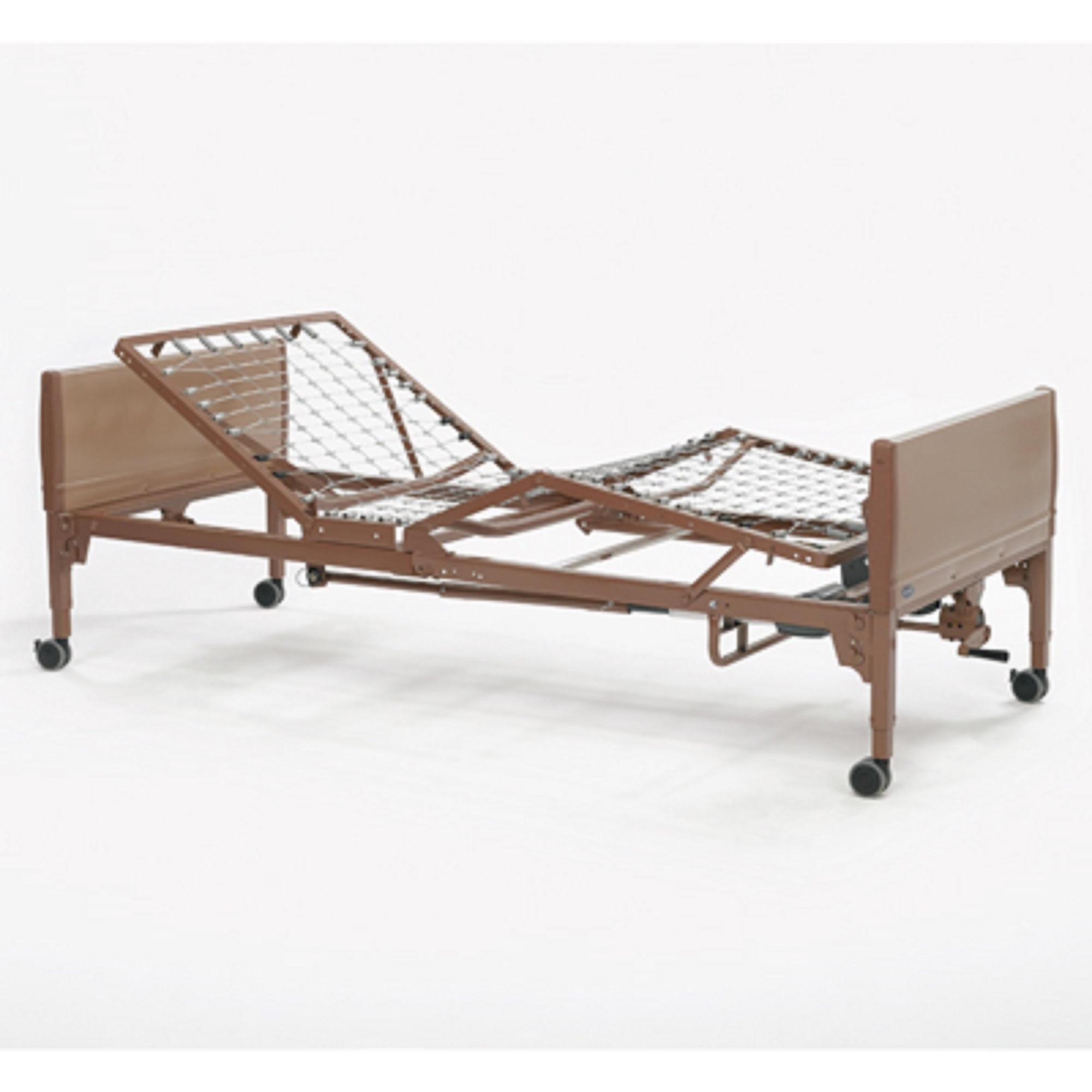 Invacare Semi-Electric Homecare Bed with Foam Mattress an...