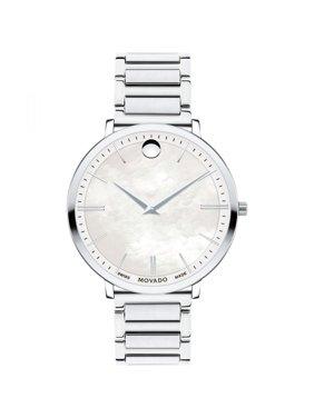 Movado Ultra Slim Stainless Steel Bracelet Watch