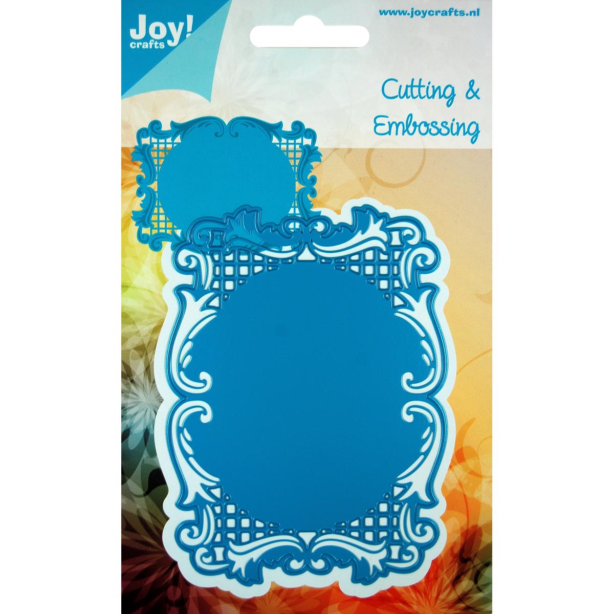 "Joy! Crafts Cut & Emboss Die -Rectangle Frame, 4.5""X3.25"""