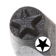 Solid Star Punch Stamp For Blanks 1/5 Inch 5mm (1)