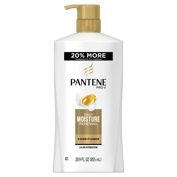 Pantene Pro-V Conditioner, Daily Moisture Renewal, 28.9 Fl Oz